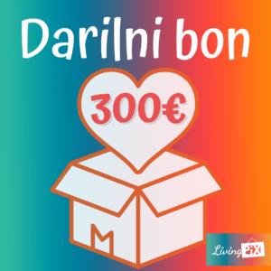 darilni bon 300