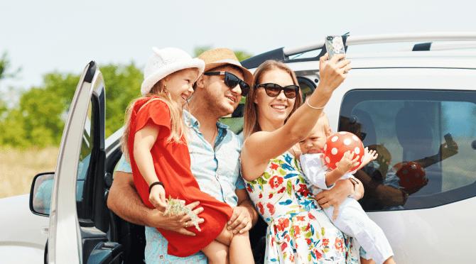 družinski selfie
